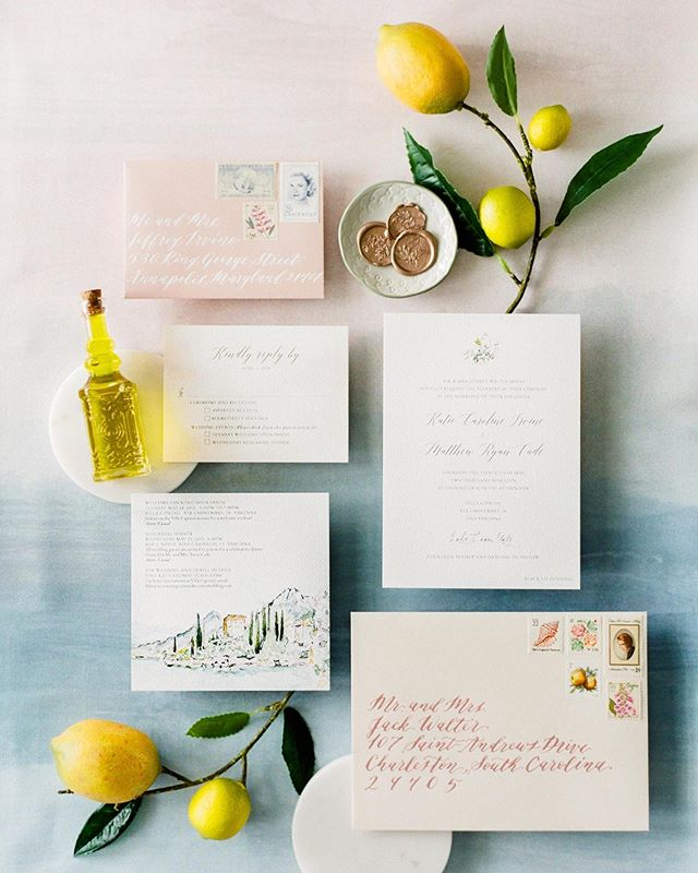 K+M's Lake Como wedding is front and center of @stylemepretty today featuring EVR painted watercolor details 💞! @irvine_katie has great advice for brides planning a romantic, naturally beautiful wedding day 🍋🌟 Rockstar vendors: LBB Photography: @shannonmoffit LBB Bridesmaids' Dresses: @jennyyoonyc Event Planning: @lakecomoweddingplanner Floral Design: @figlideifioricomo Videography: @marcoabba Venue: @hotelvillacipressi Wedding Dress: @rothmyworld Dress Shop: @kleinfeldbridal Groom's Attire: @josabank Rentals: @tablesetrentals Watercolor Invitations: @evrpaper Calligrapher: @dreamsandnostalgia MUAH: @danielaguanzirolithestudio Film Lab: @photovisionprints