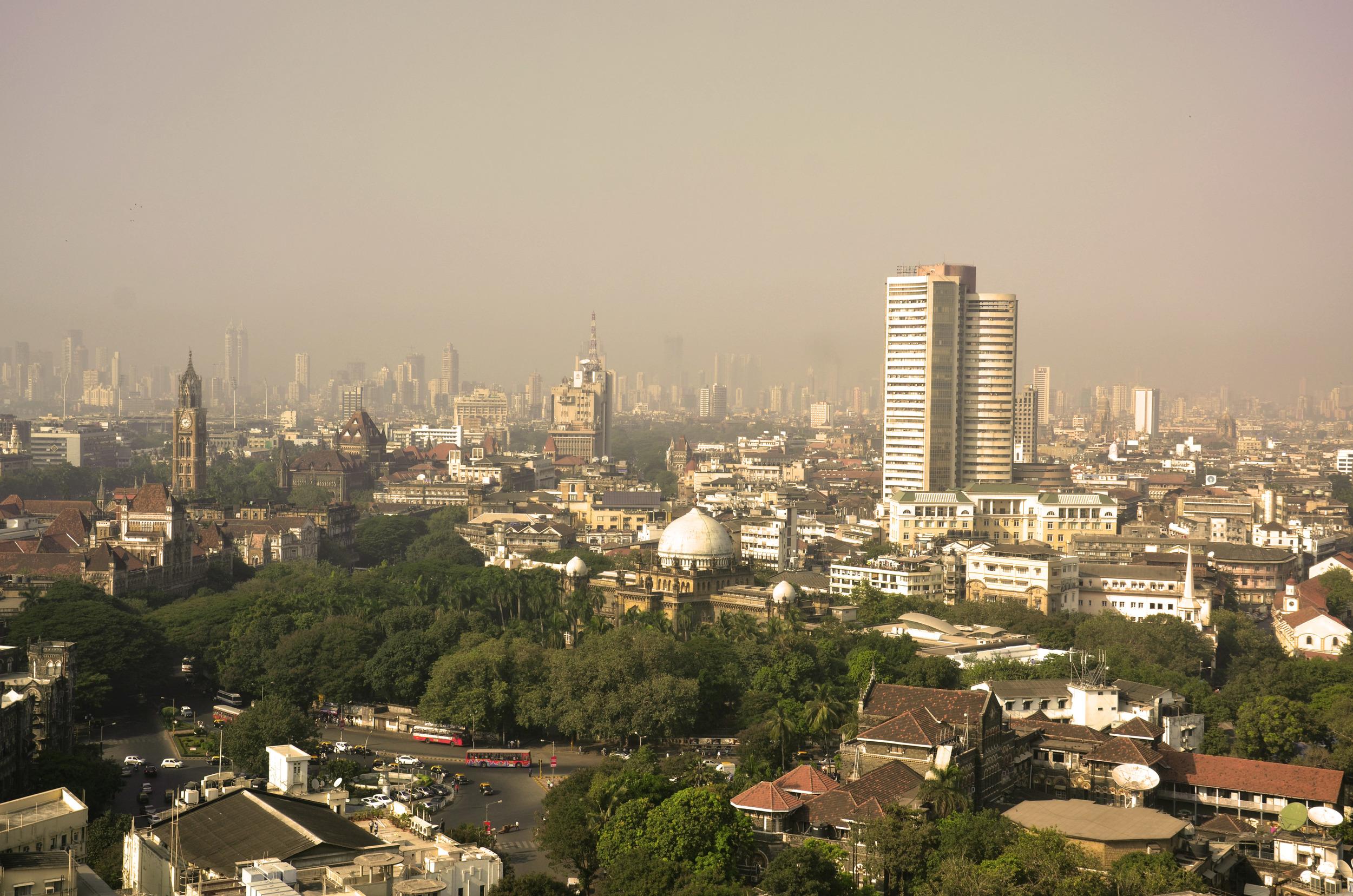 Mumbai from the Taj Hotel