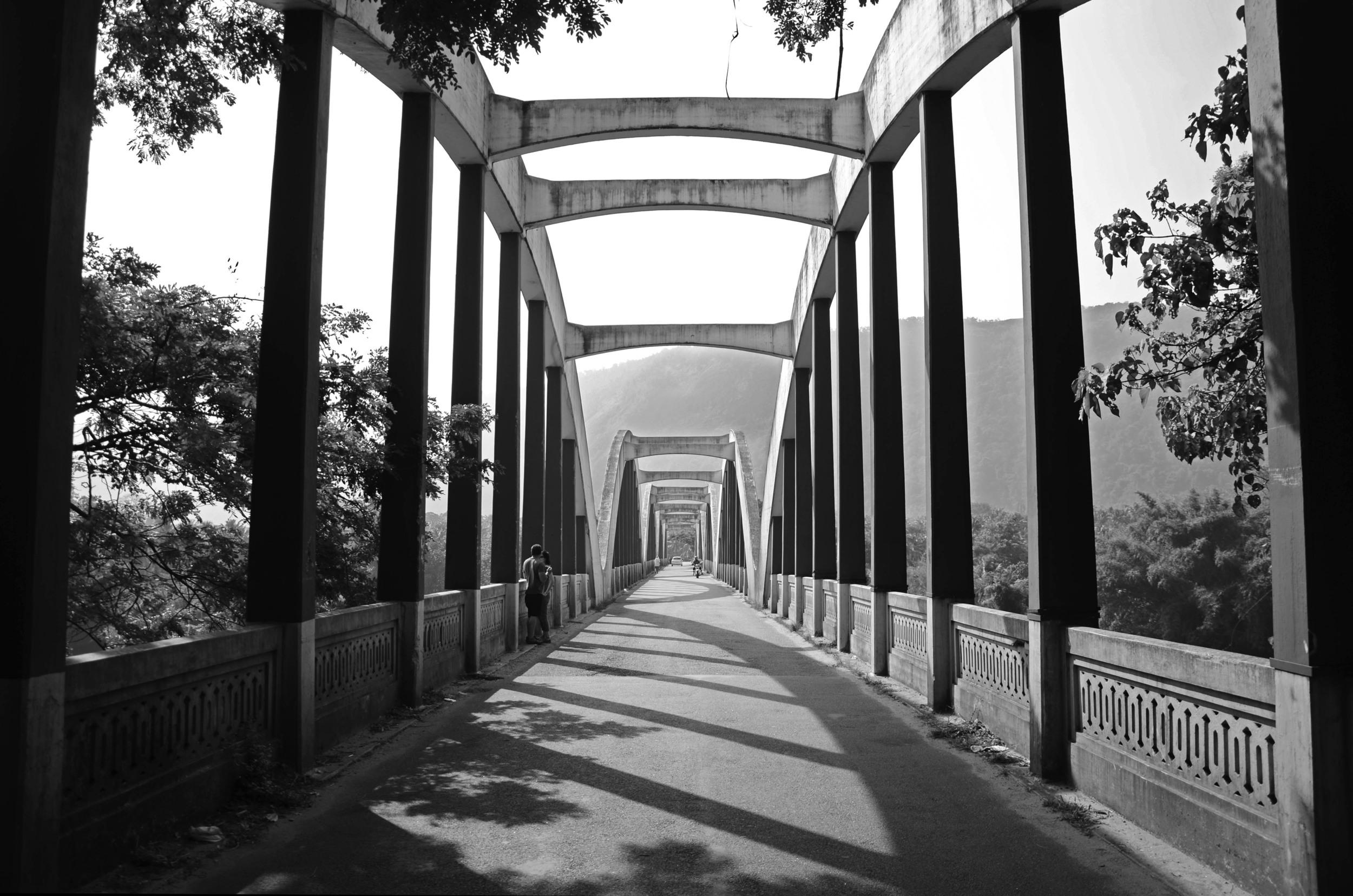 Neriamangalam bridge on the way to Munnar