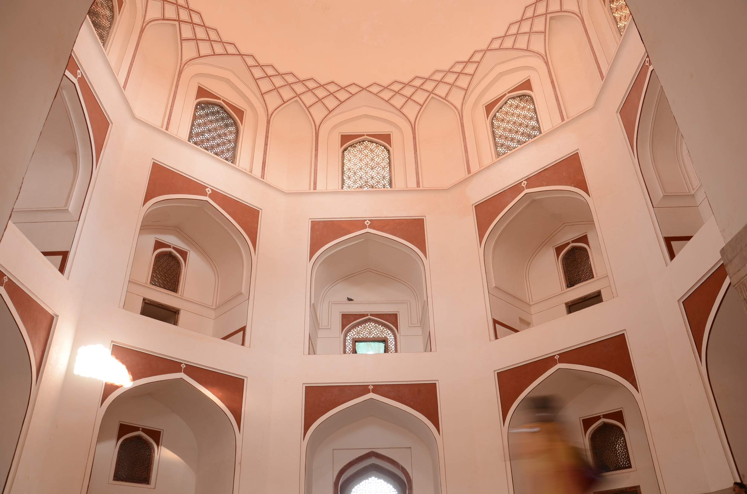 Humayun's Tomb interior