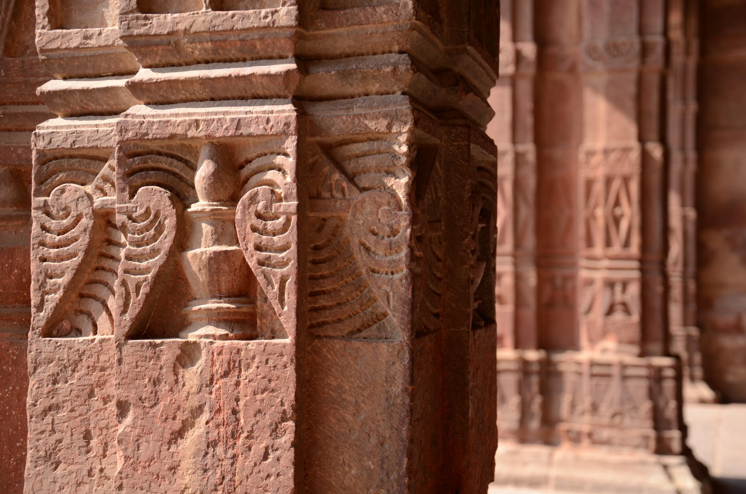 Carving details