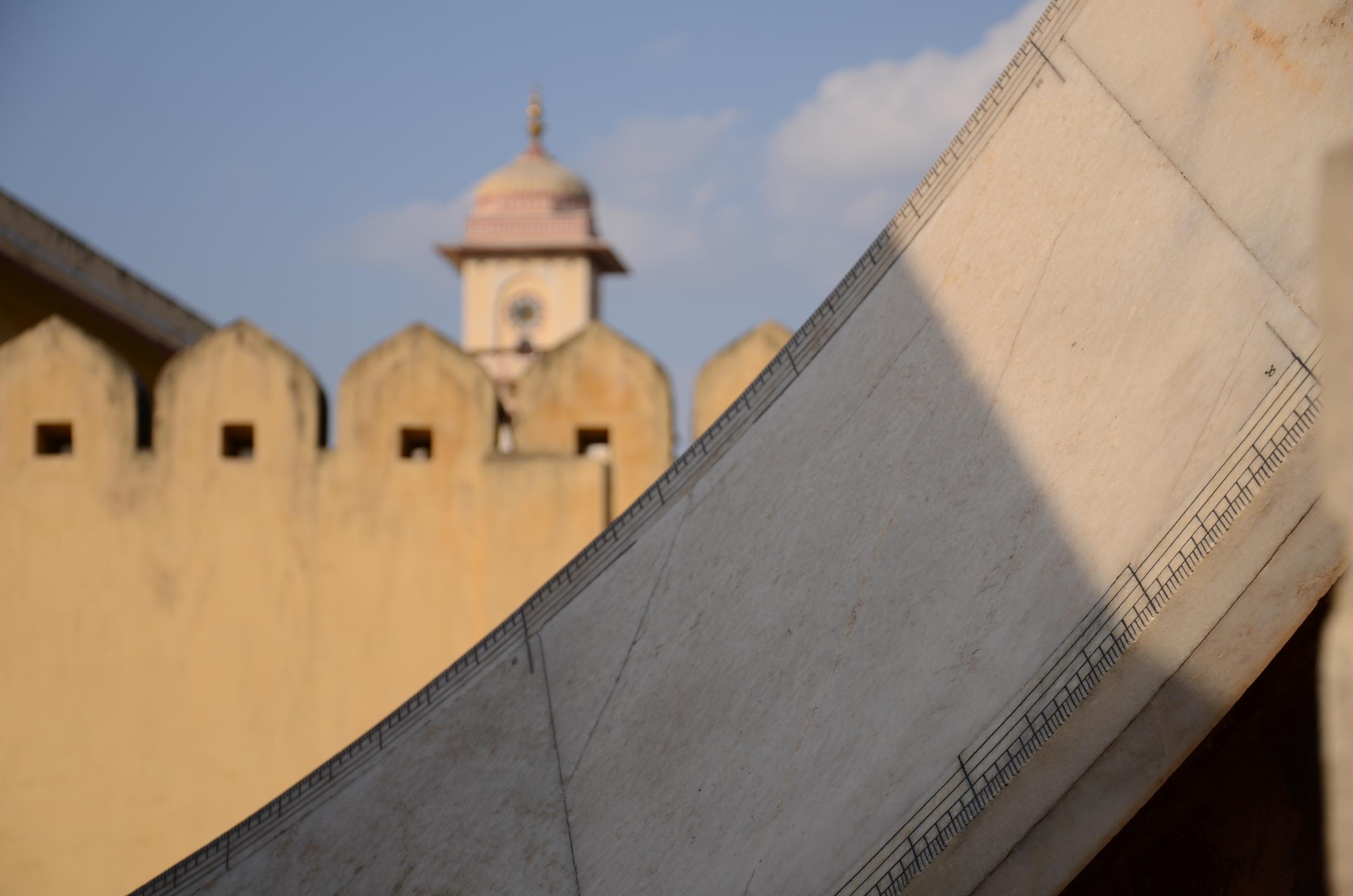 Sundials at Jantar Mantar