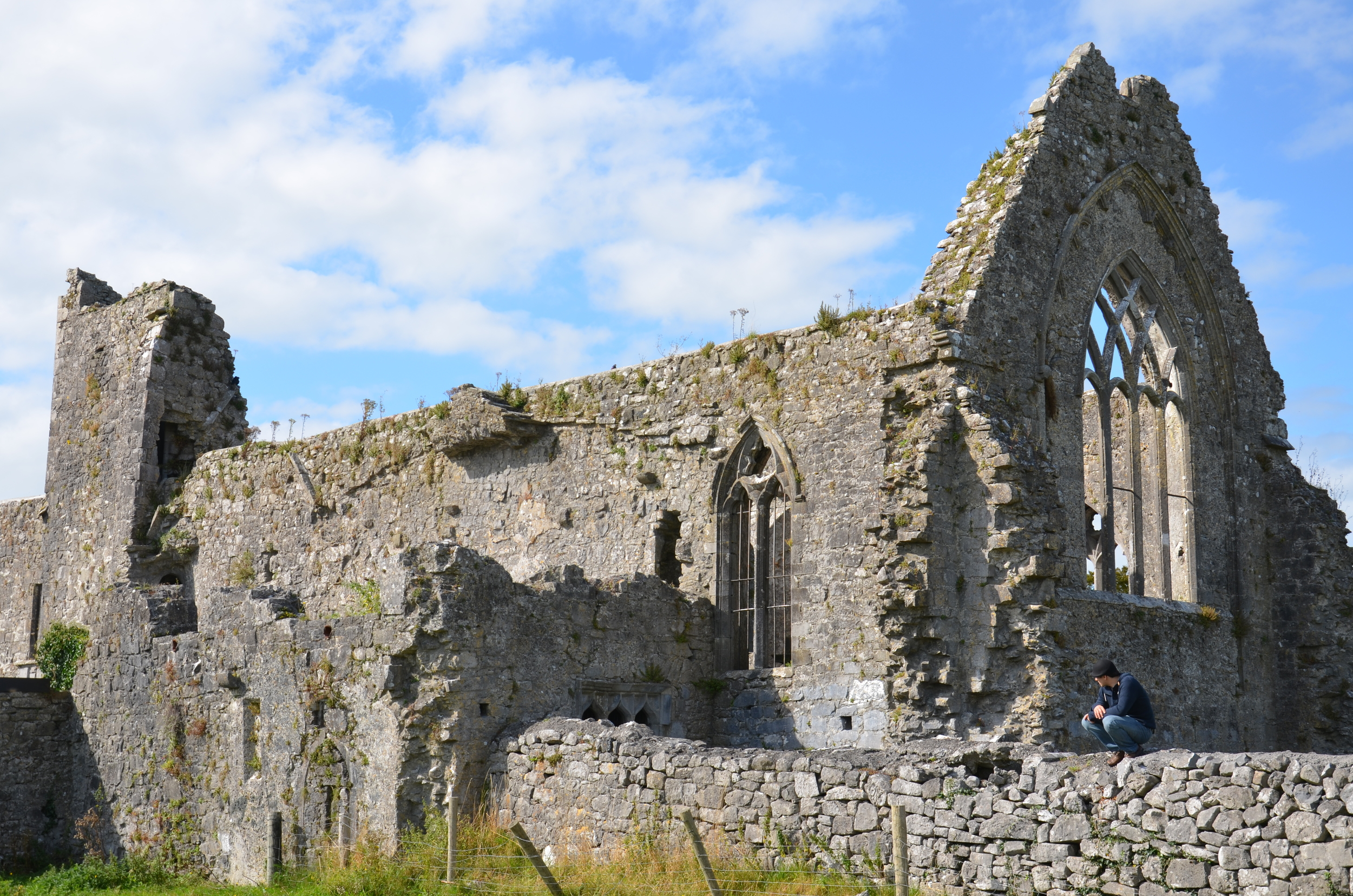 Ruins in Athenry