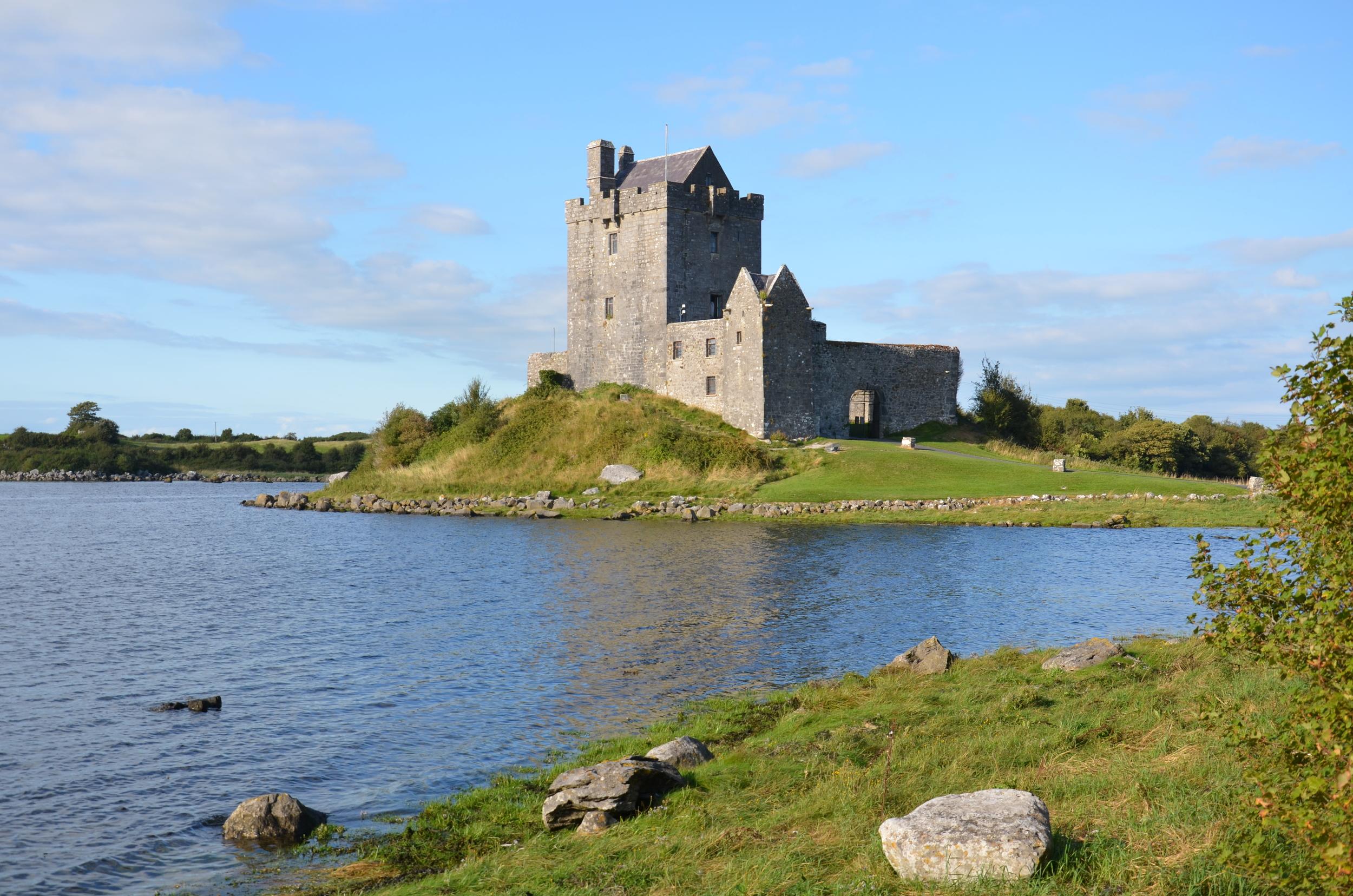 Castle along the road