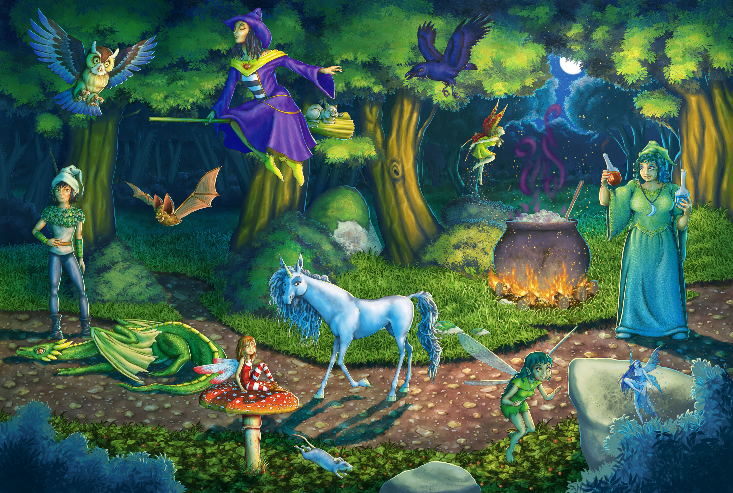 Magic-characters-in-the-Woods-Personaggi-magici-nel-Bosco.jpg