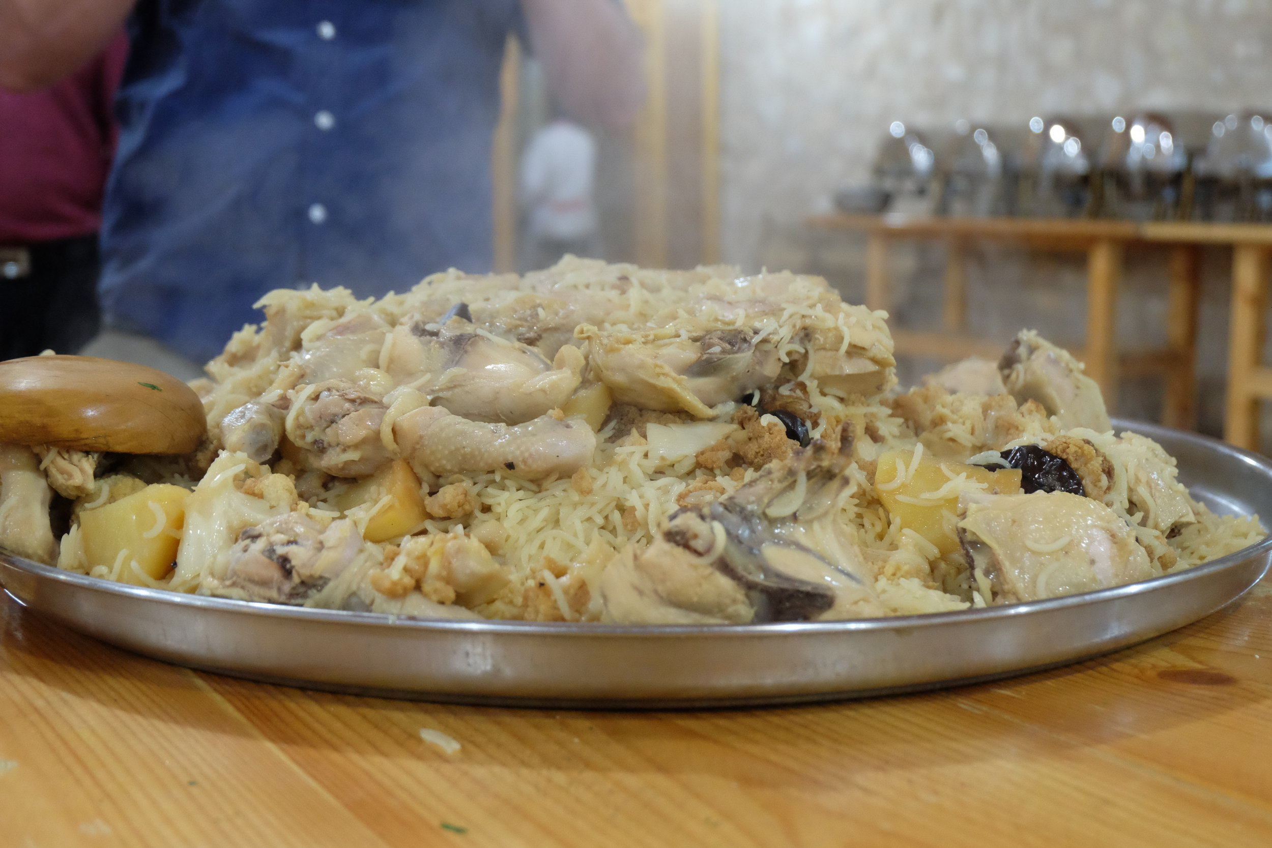 Upside Down Chicken And Rice (Maqlooba)
