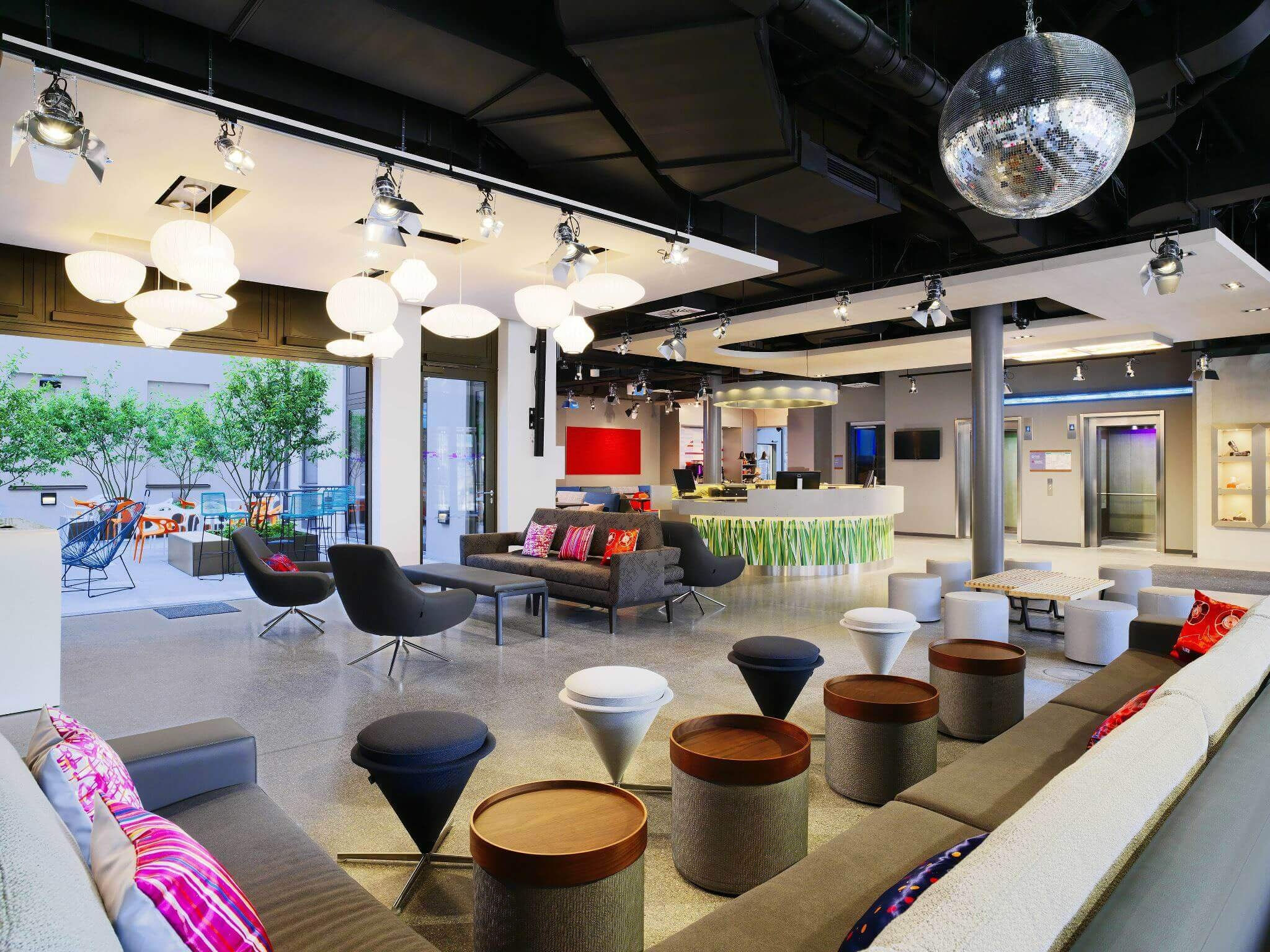 Aloft - Stylish boutique hotel chain by Starwood (i.e.