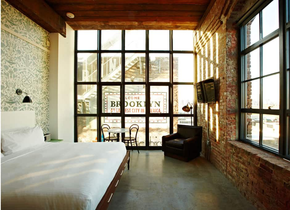 Wythe Hotel - Creatively inspired hotel located in a factory building