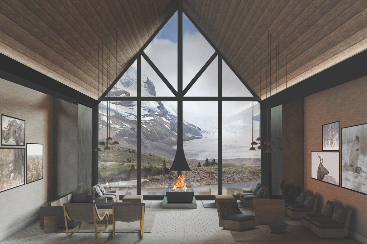 An all-inclusive lodge at the edge of the Athabasca Glacier loaded with adventure, nature and great food - About a 3.5 to 4-hour drive from Calgary airport.
