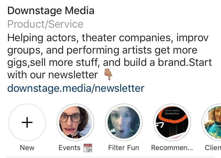 Here's where you can find Instagram Highlights.