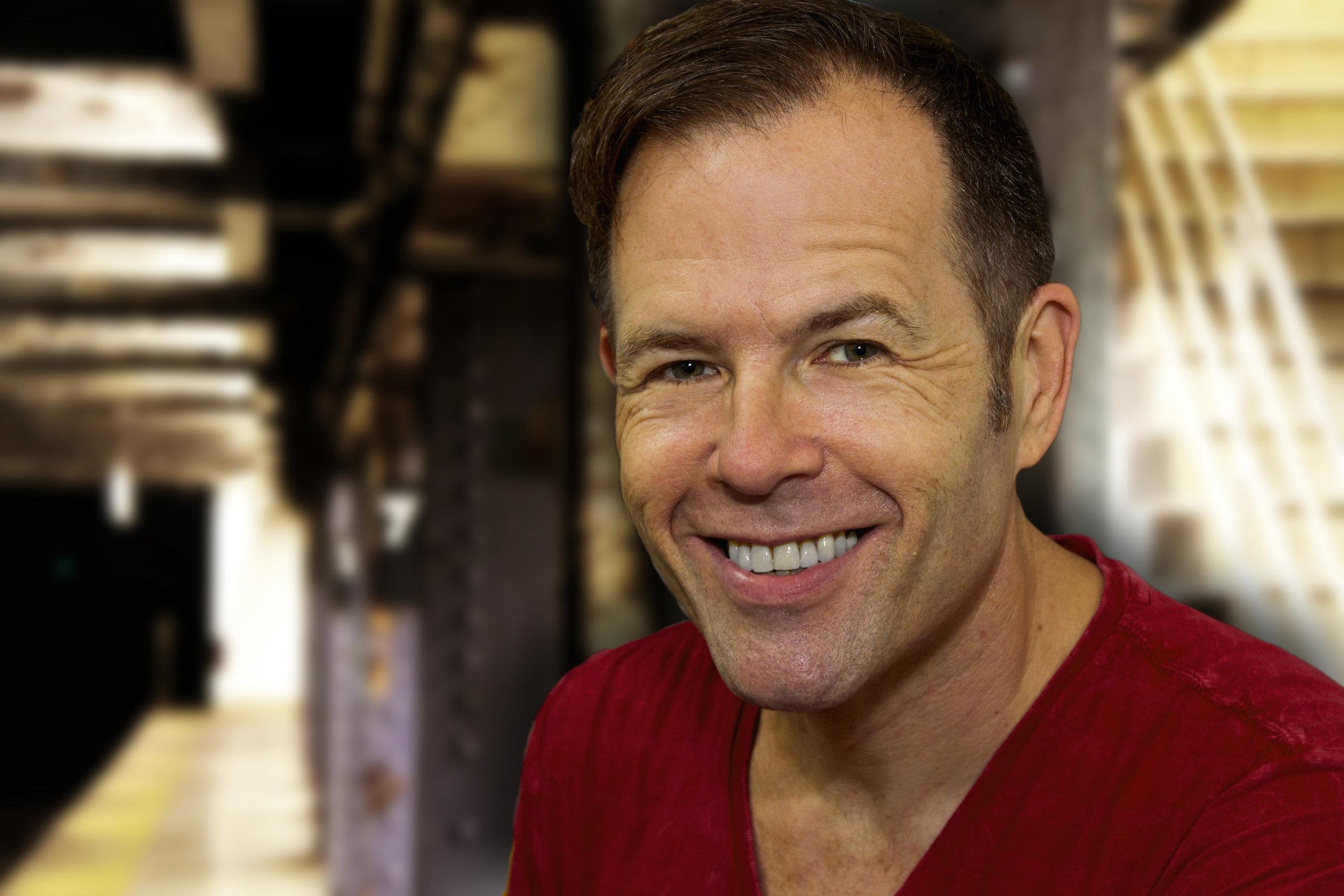 Greg Tirggs, producer, director, improviser, emcee