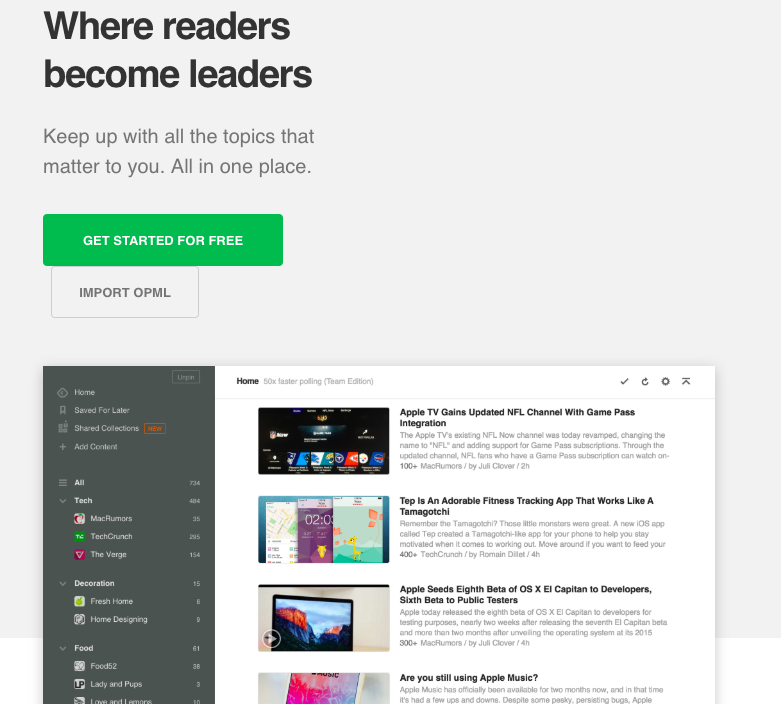 (we don't get paid by Feedly, we just find it helpful)