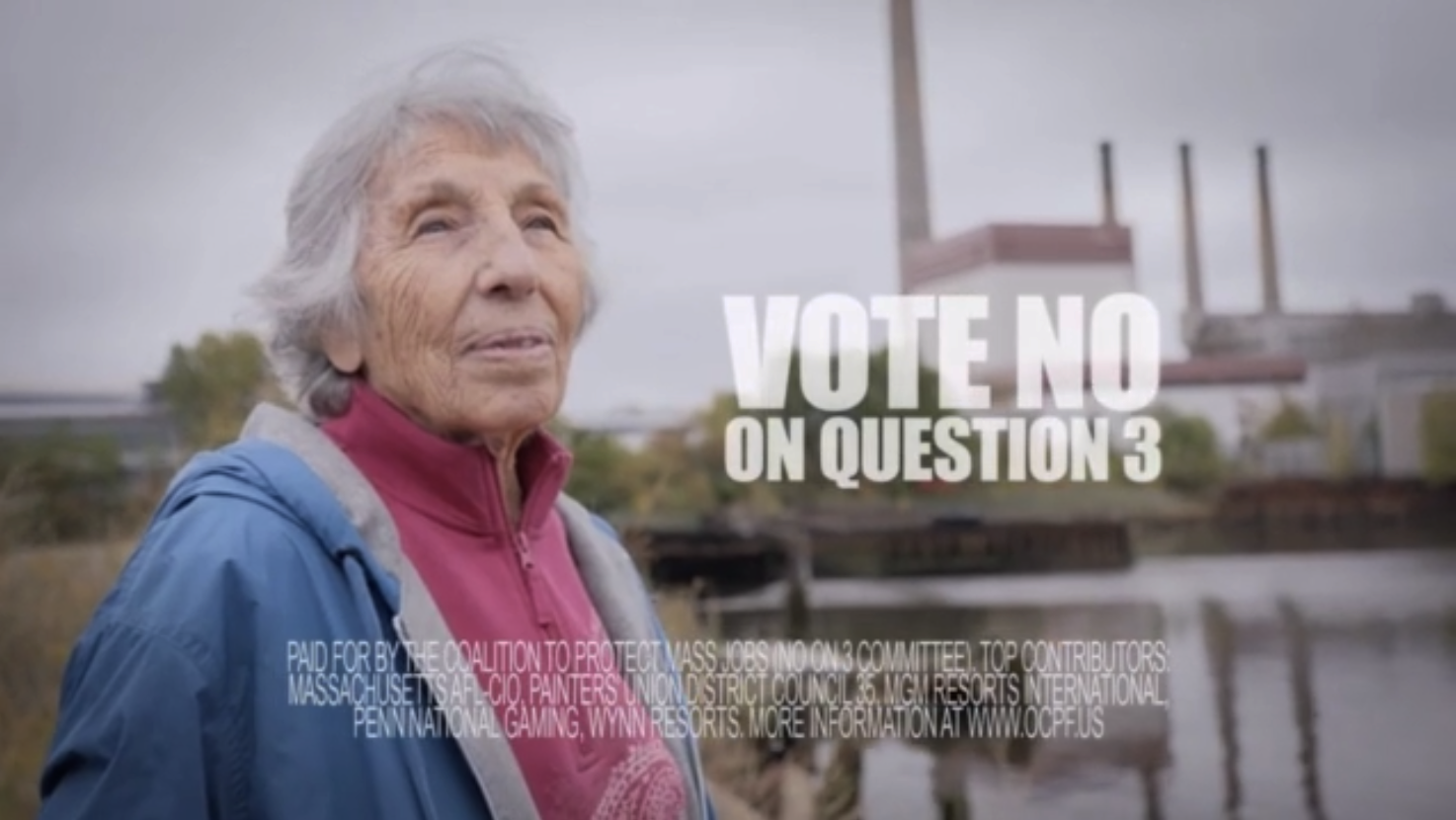 """Mary"" - Vote No on Question 3"