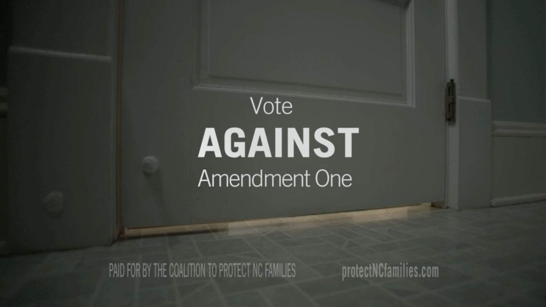 """Kristy"" - Vote Against Amendment One"