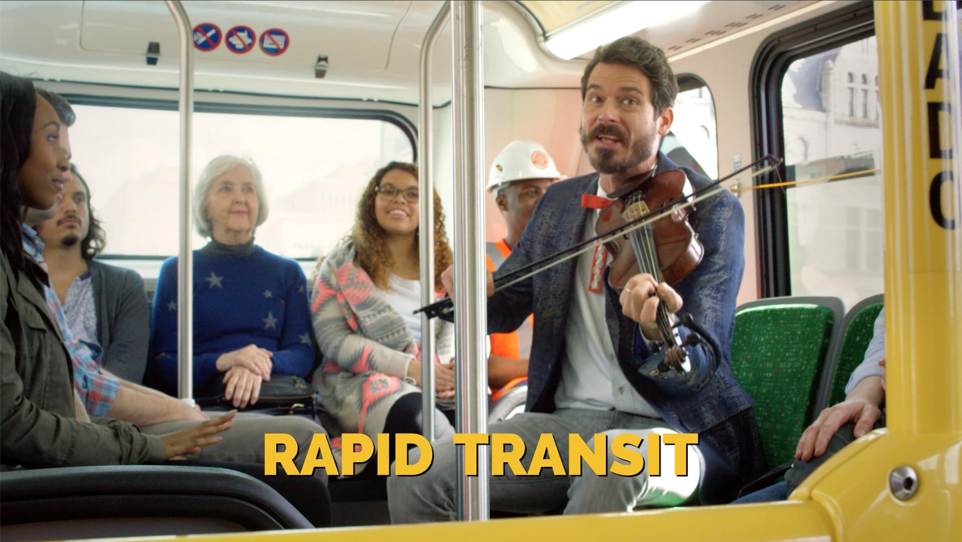 """""""Fiddler on the Bus"""" - Nashville for Transit"""