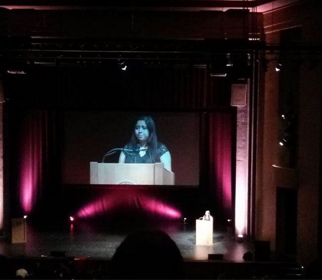 Speaking at FACES 2014.