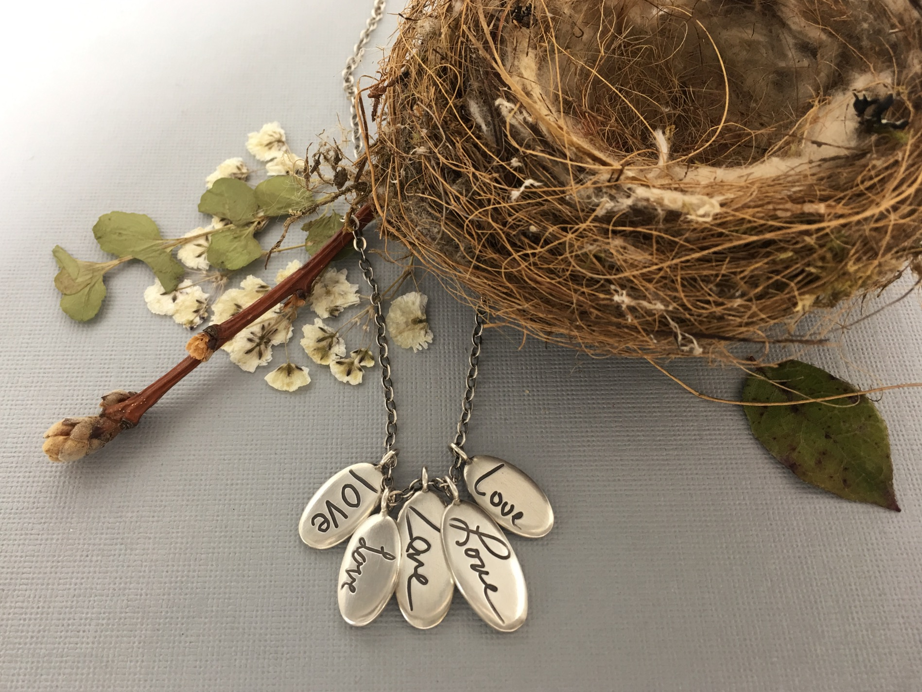 Handwriting Necklace, Gift for Mom