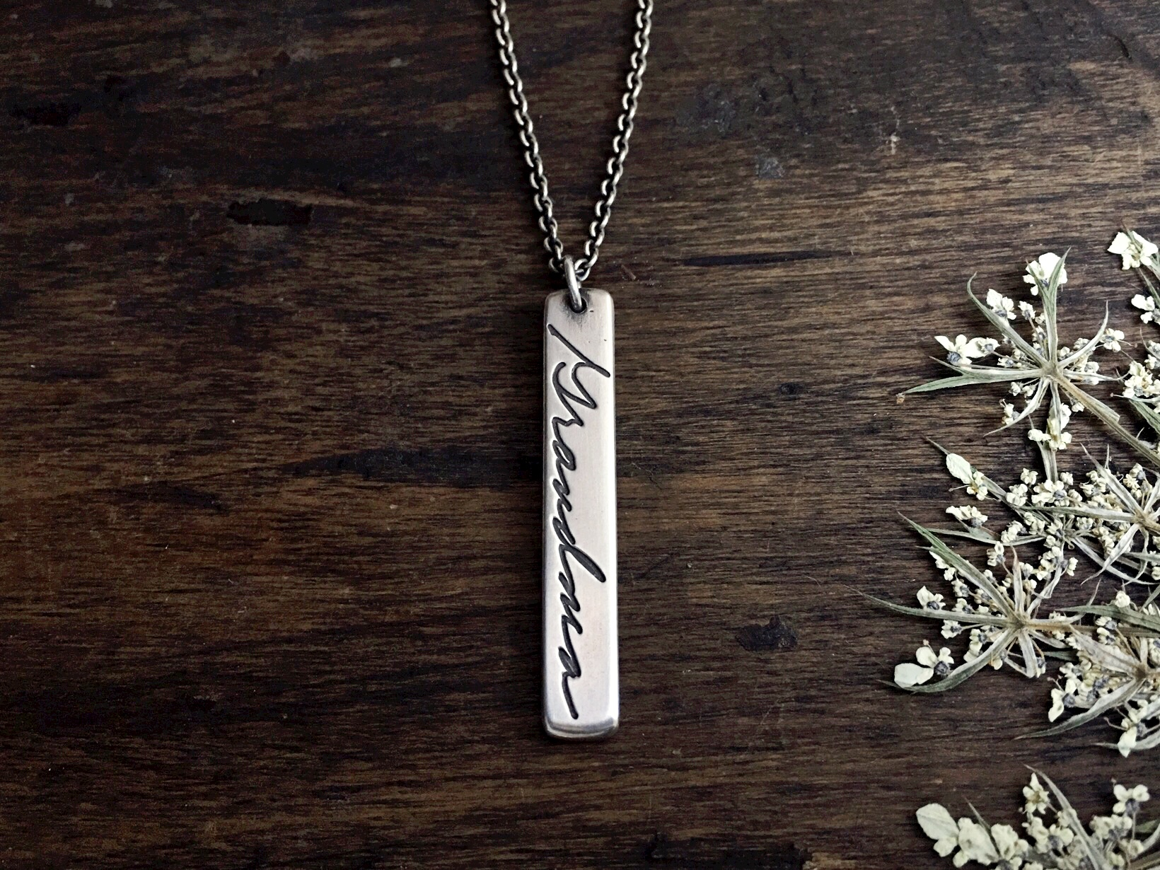 Authentic Love Handwriting Necklace SS.jpeg