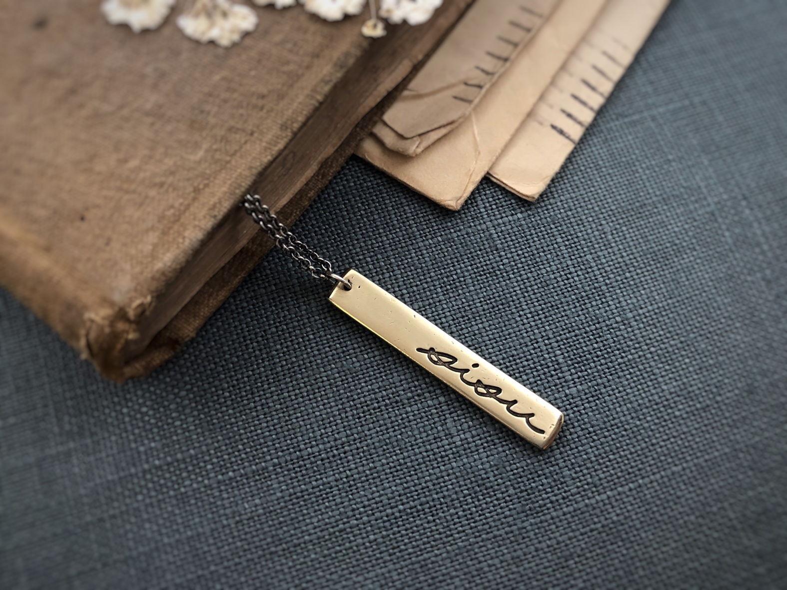 Sisu Handwriting Necklace.JPG