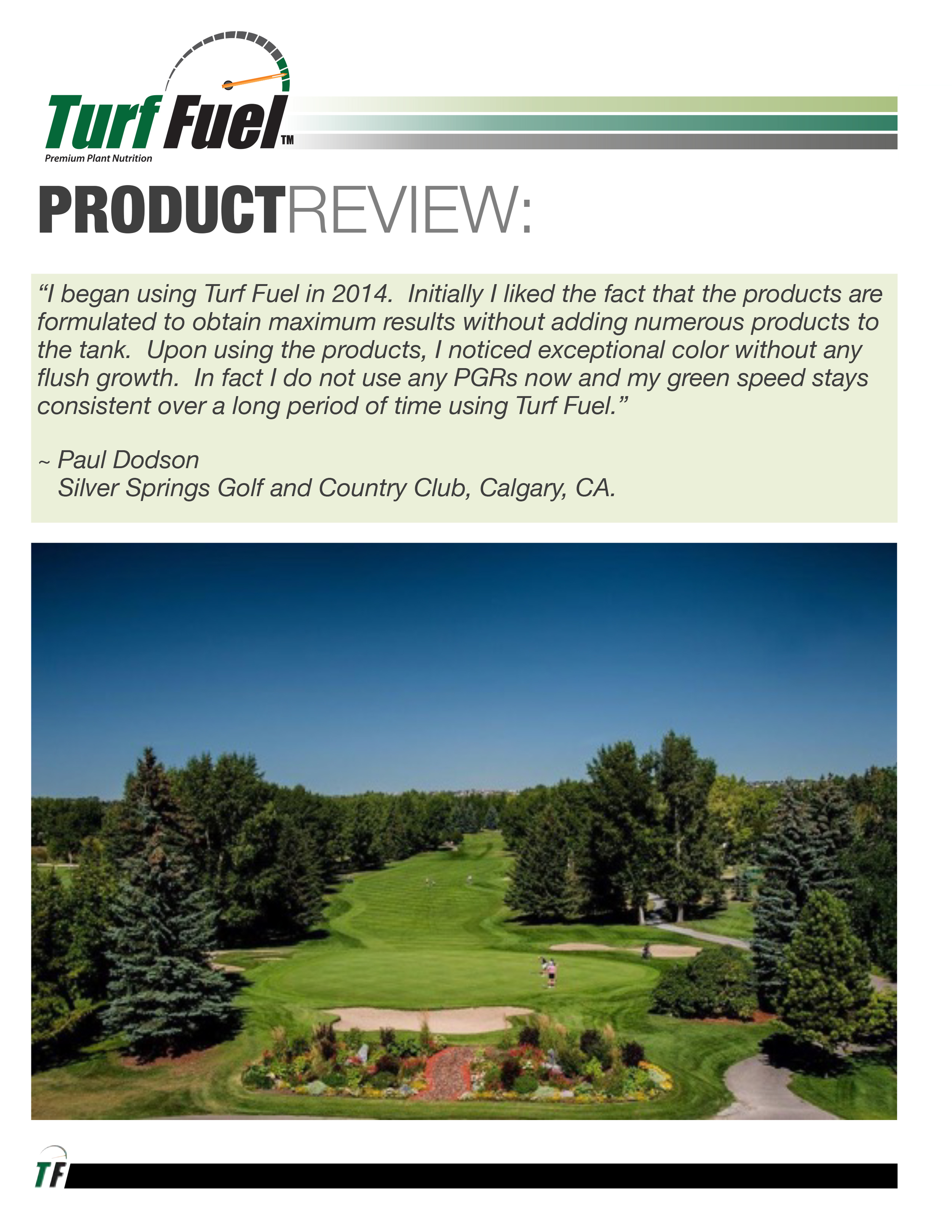 PRODUCT REVIEW Paul Dodson