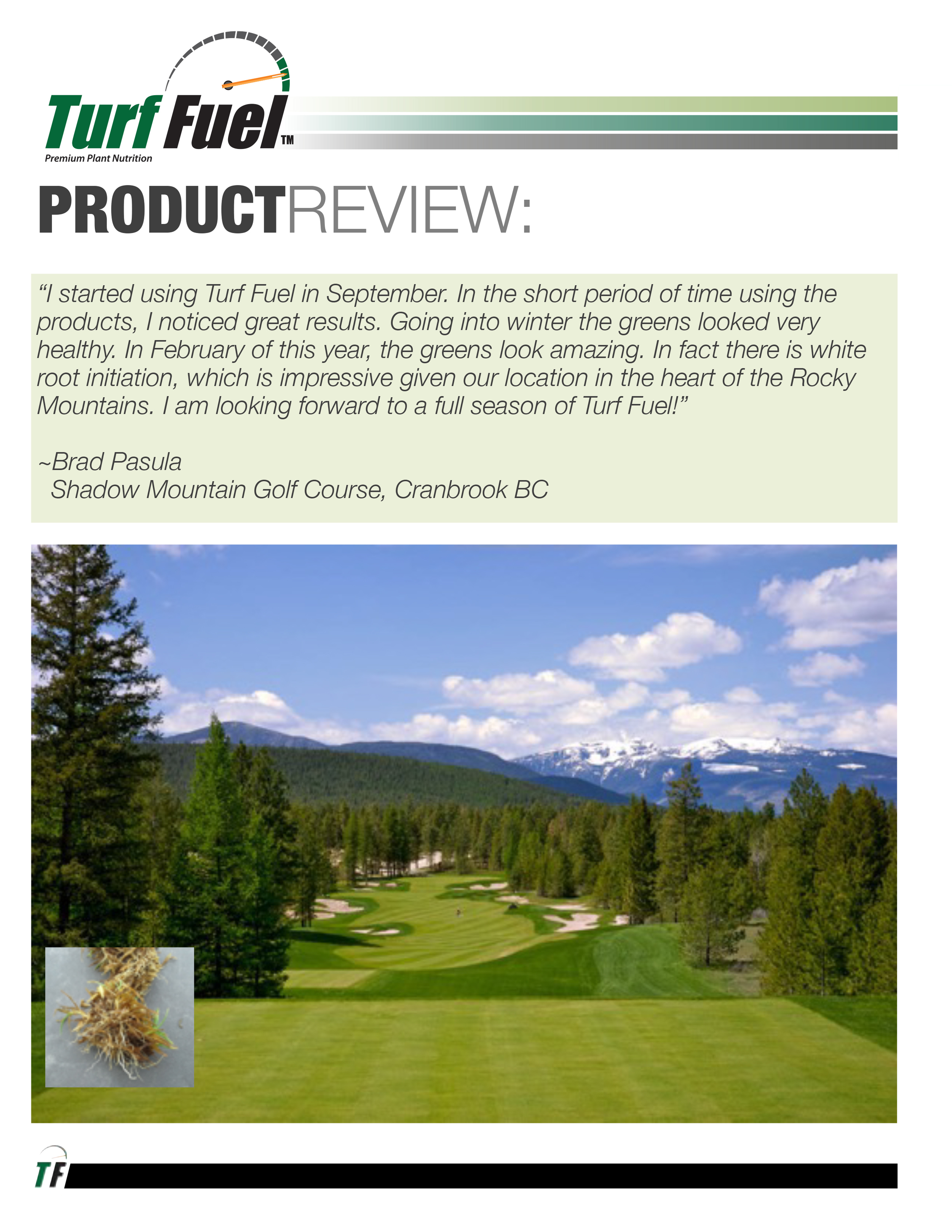 PRODUCT REVIEW Shadow Mountain GC