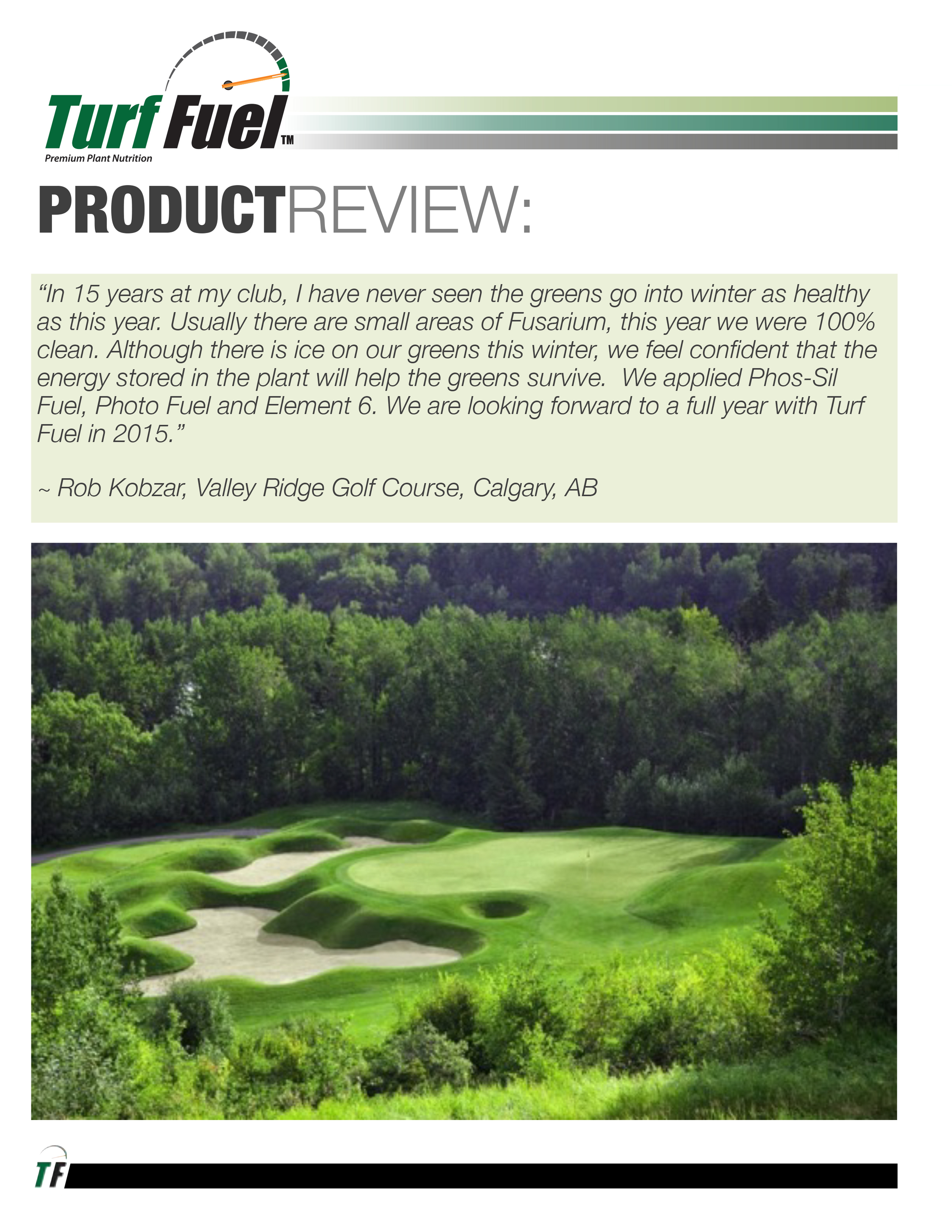 PRODUCT REVIEW Valley Ridge