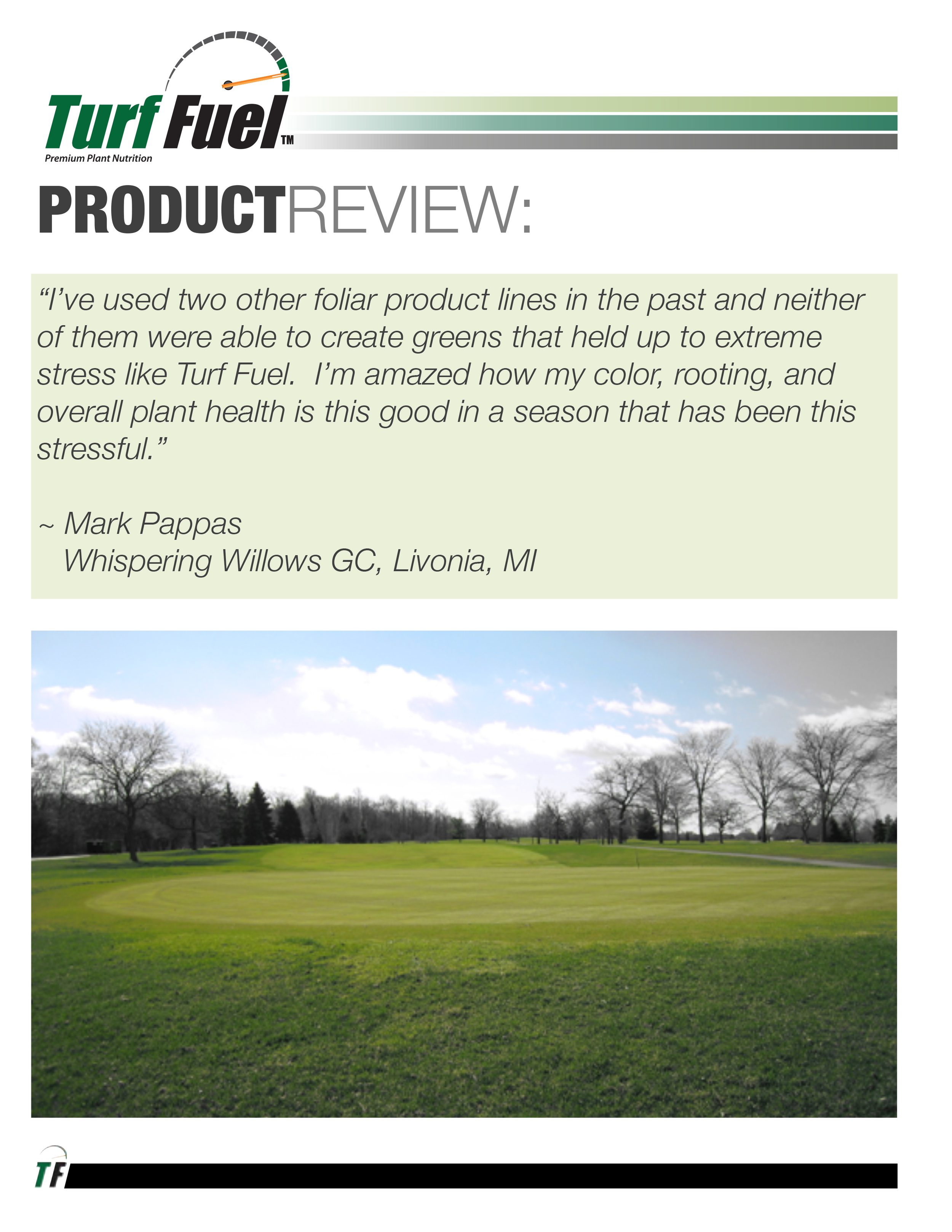 PRODUCT REVIEW Whispering Willows