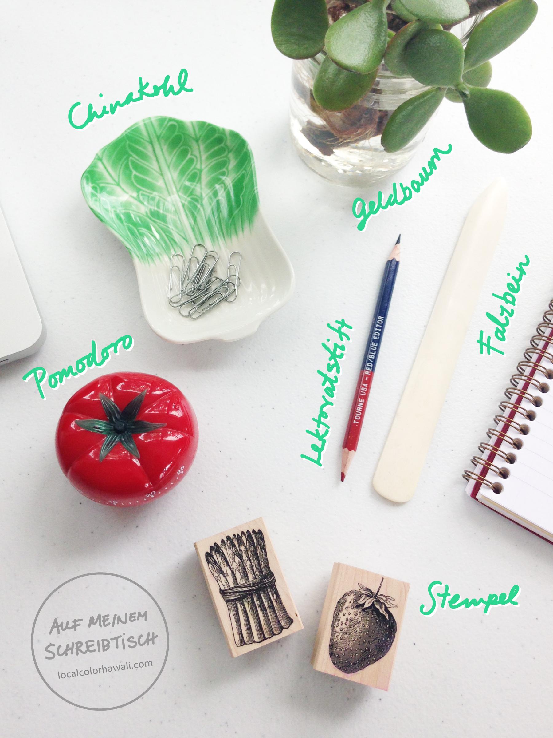 Leslie Kuo ´Auf meinem Schreibtisch` for herzundblut.com