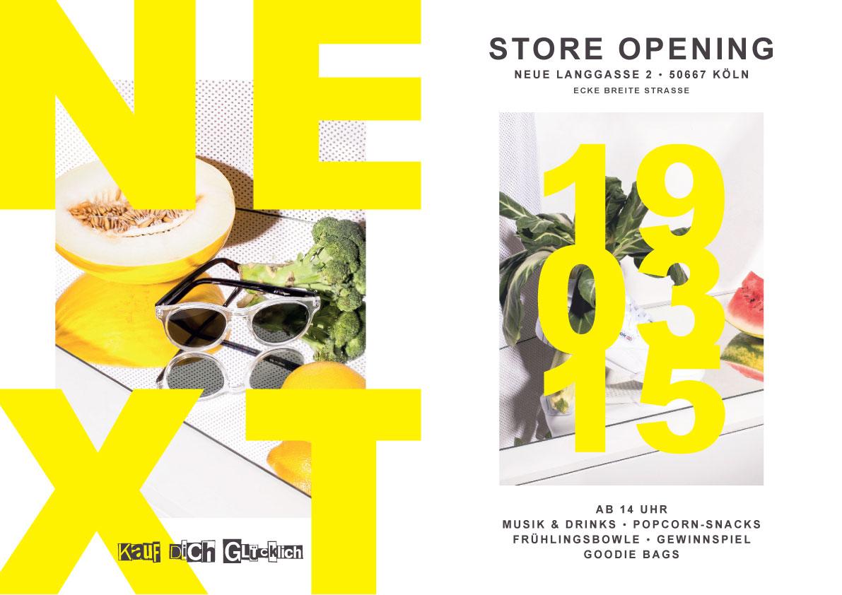 Kauf dich Glücklich Store Opening!