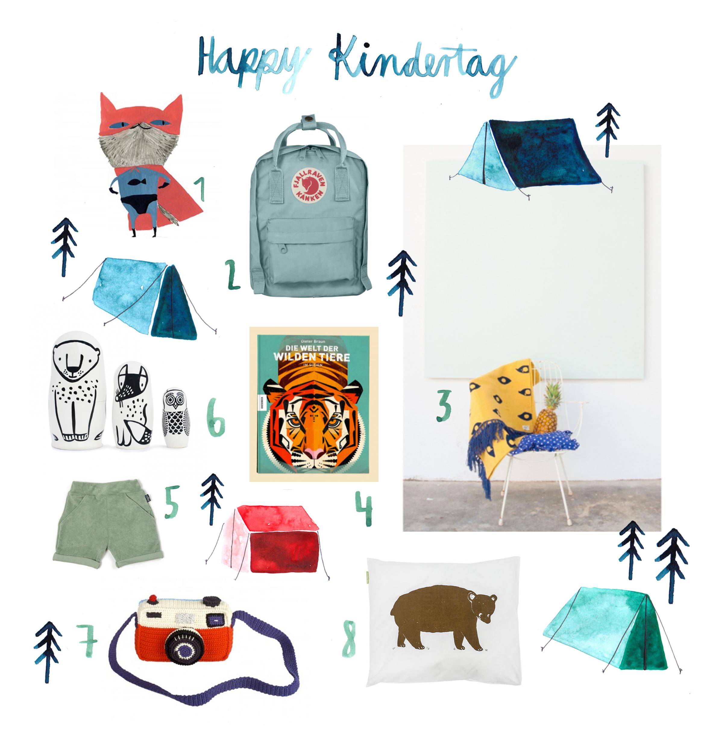 Happy Kindertag von Sarah Neuendorf für herzundblut.com