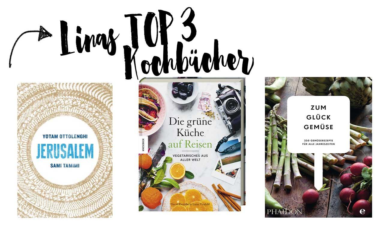 Linas Top 3 Kochbücher
