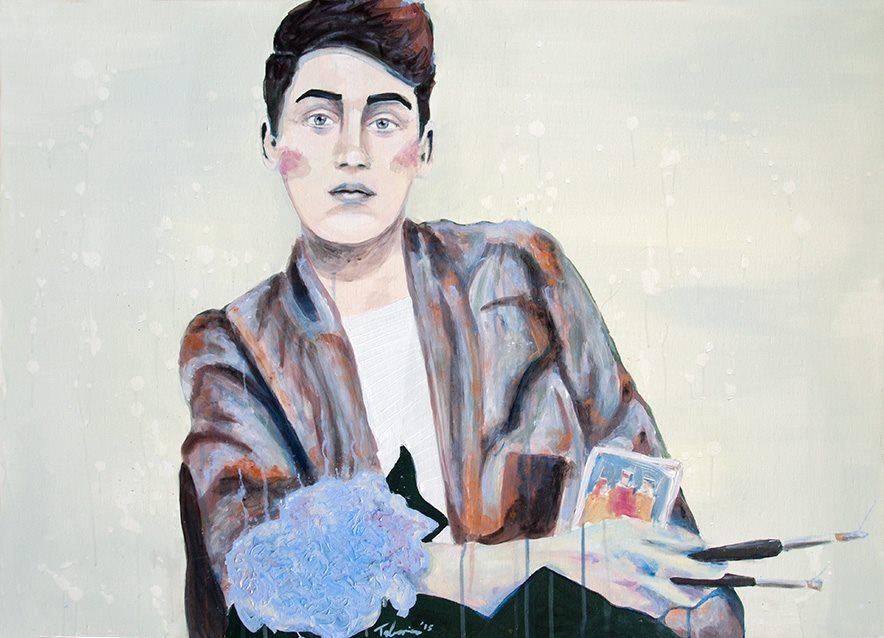 Selbstportrait von Doménico C.V. Talarico