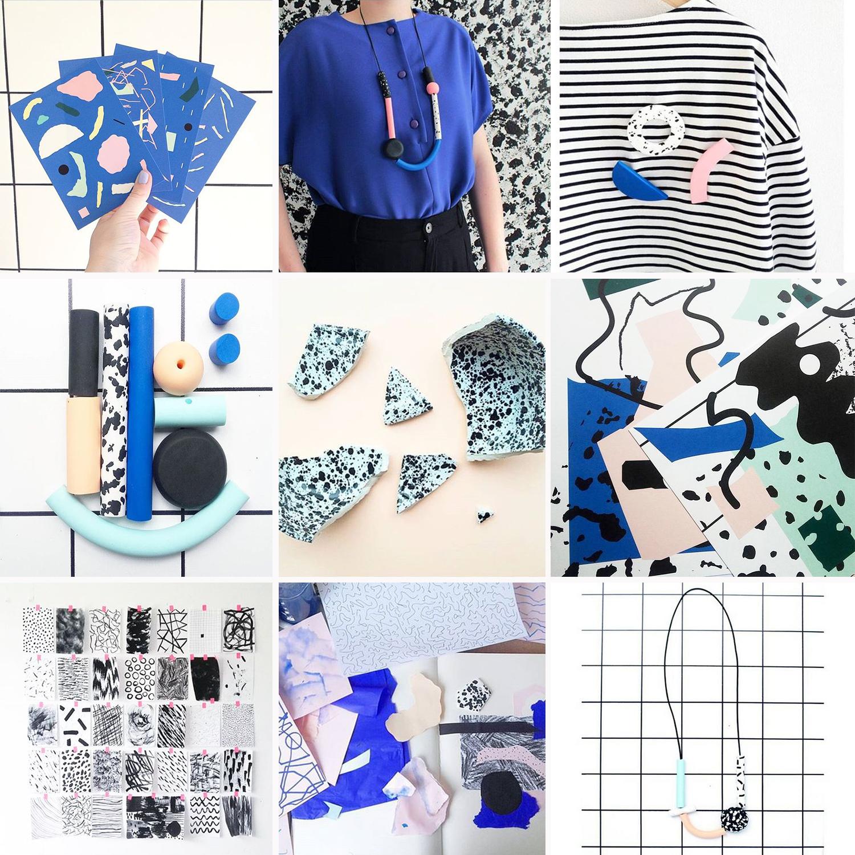 InstaCrush arty prints