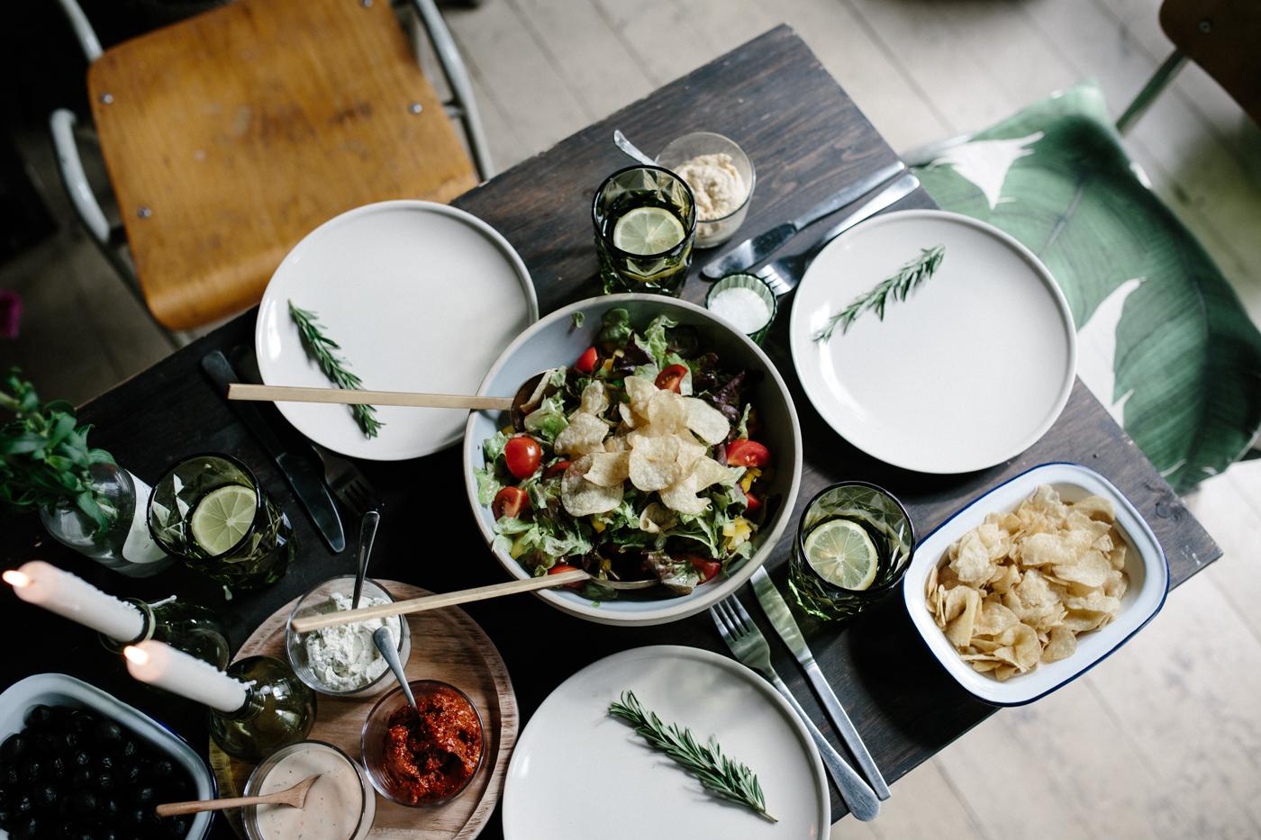 Let´s have a sundowner dinner vor naturals