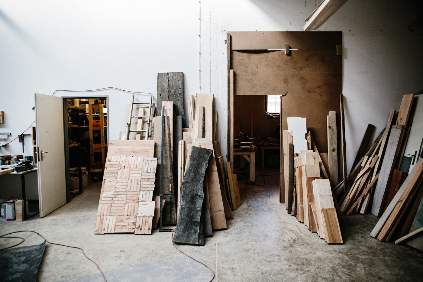 Studiotour Woodboom auf Herzundblut