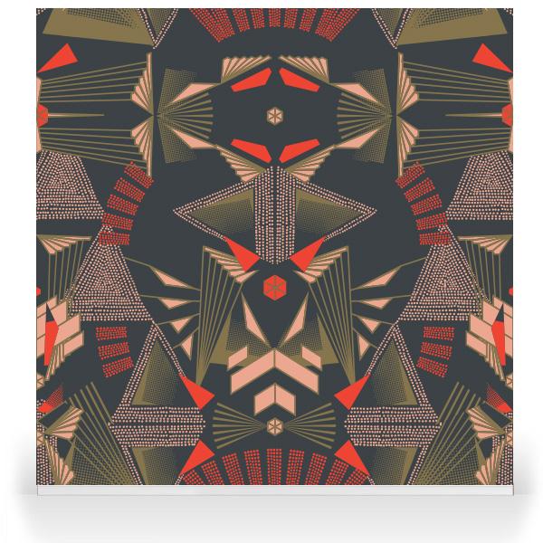 Wallpaper von Robin Sprong // Tapeten // Schöne Wände
