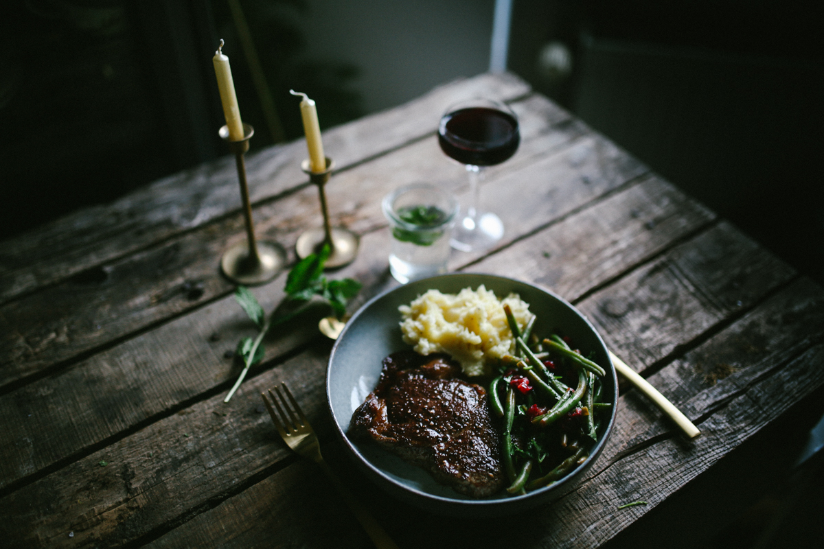 Irish Beef Dinner // Menü