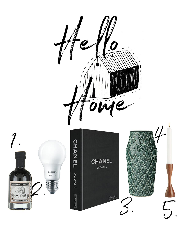 hello home - whishlist