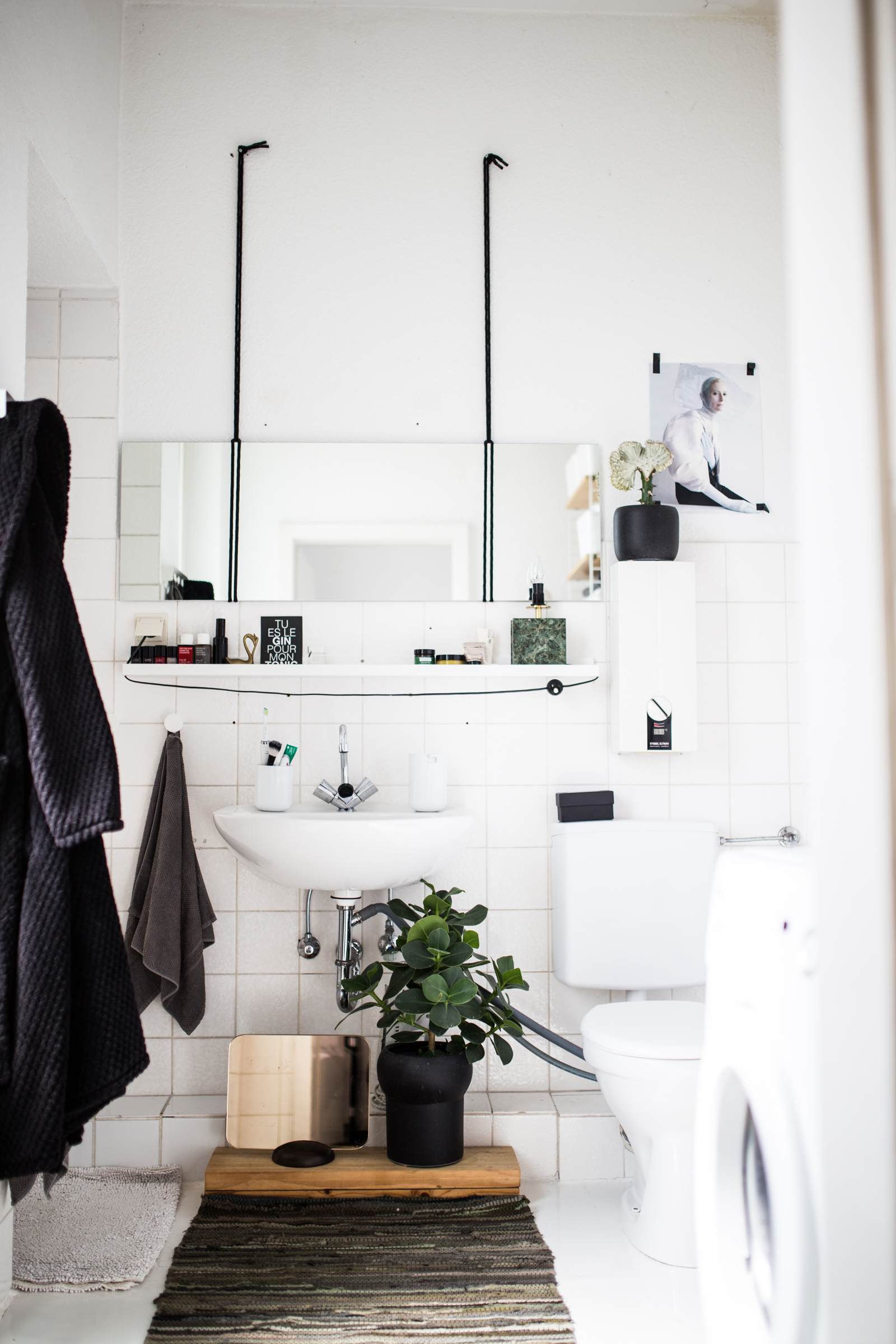 Homestory in Hamburg Ottensen // Badezimmer // Bathroom