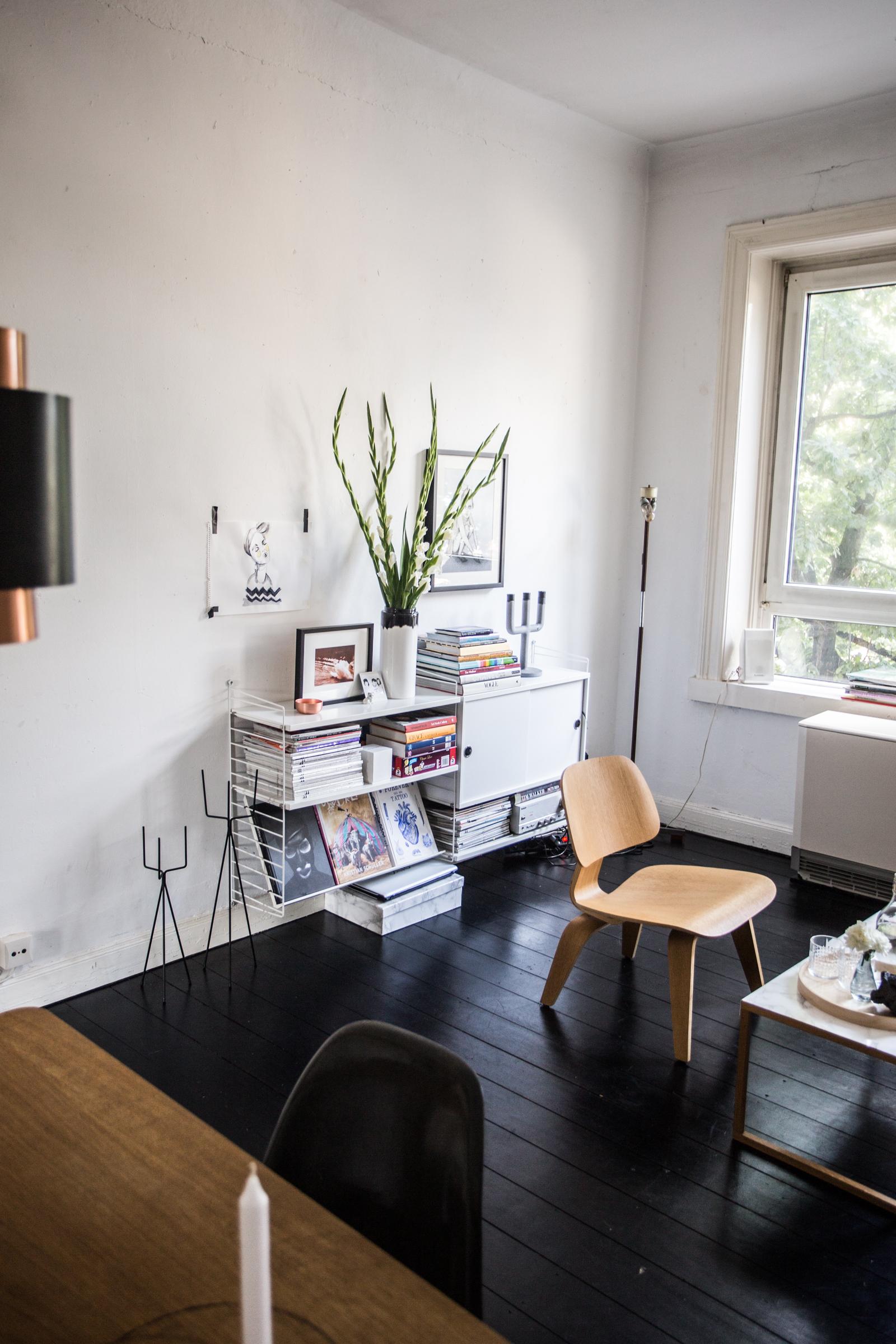 Homestory in Hamburg Ottensen // Wohnzimmer