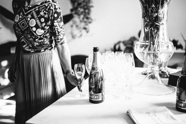 POMMERY Champagner-Tasting @Maison Palmė