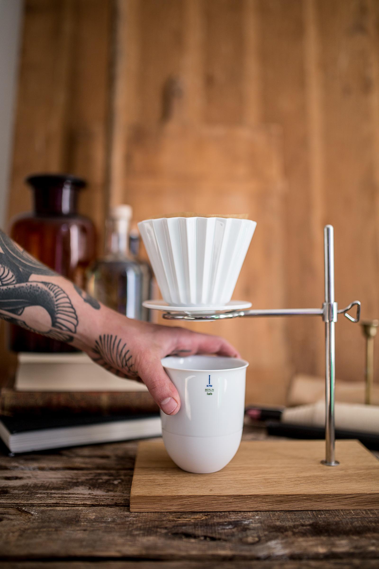 HERZSTÜCK: KPM Kaffeefilter #2 LAB