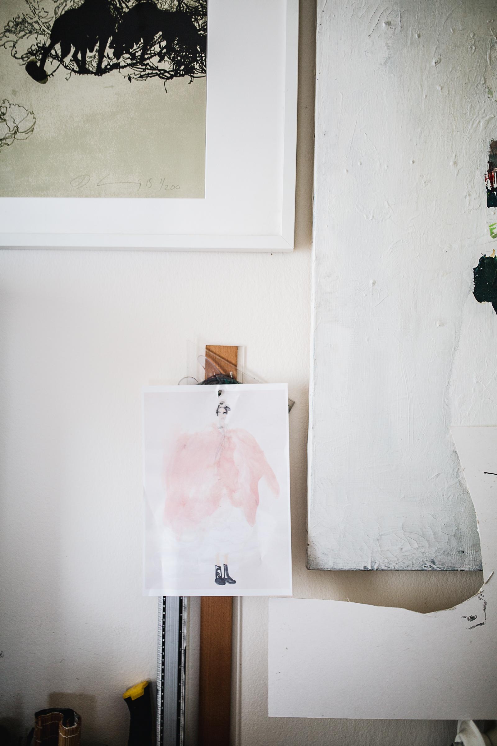Studiobesuch bei Daniel Egnéus