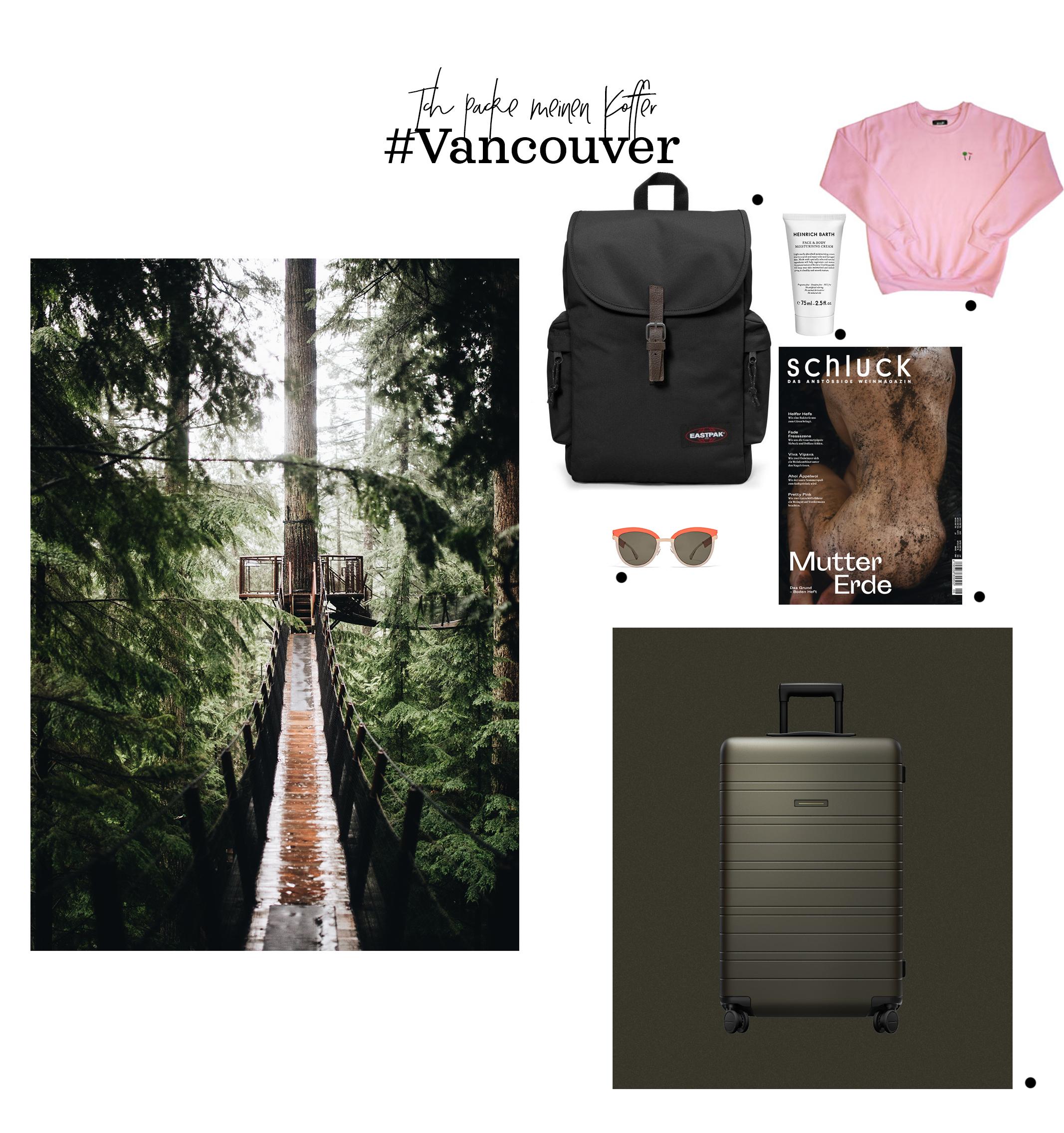 Ich packe meinen Koffer… Vancouver