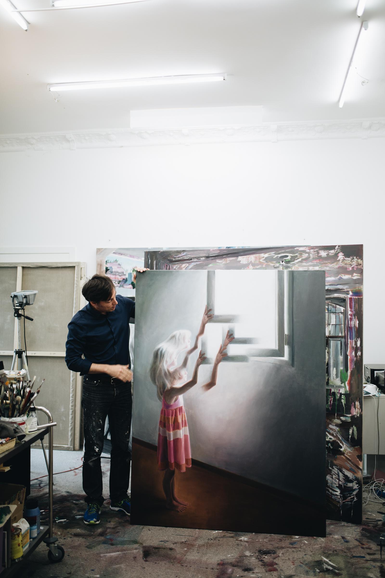 Atelierbesuch bei Dénesh Ghyczy