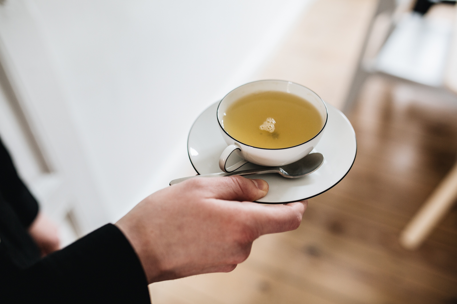 Auf eine Tasse Tee bei Christoph Steiger