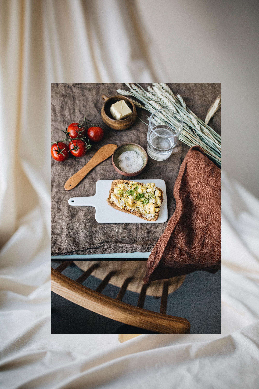 Buttermesser  /  Handtuch  /  Brettchen  /  Glas