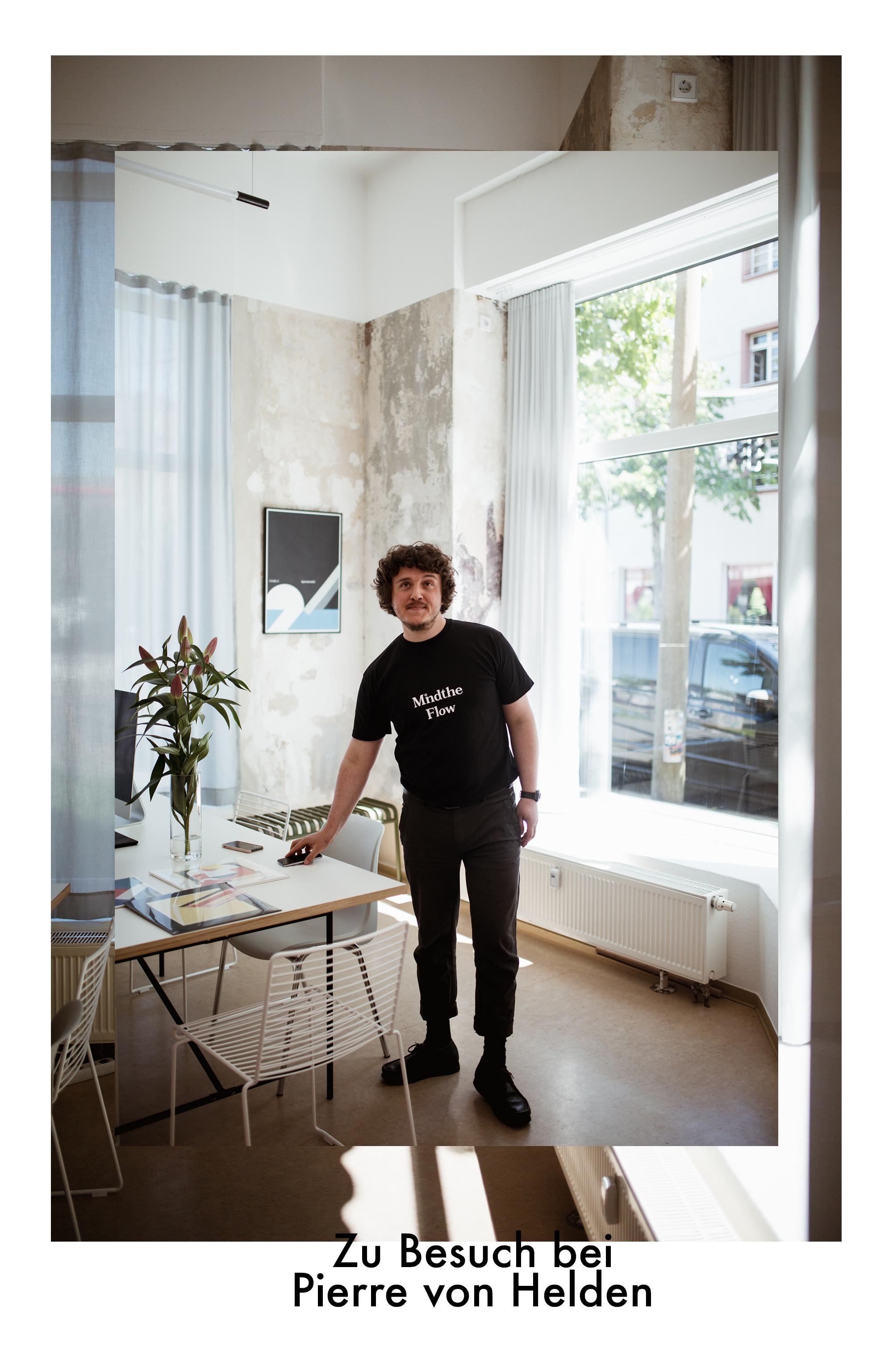 Zu Besuch bei Pierre von Helden im Apartment102