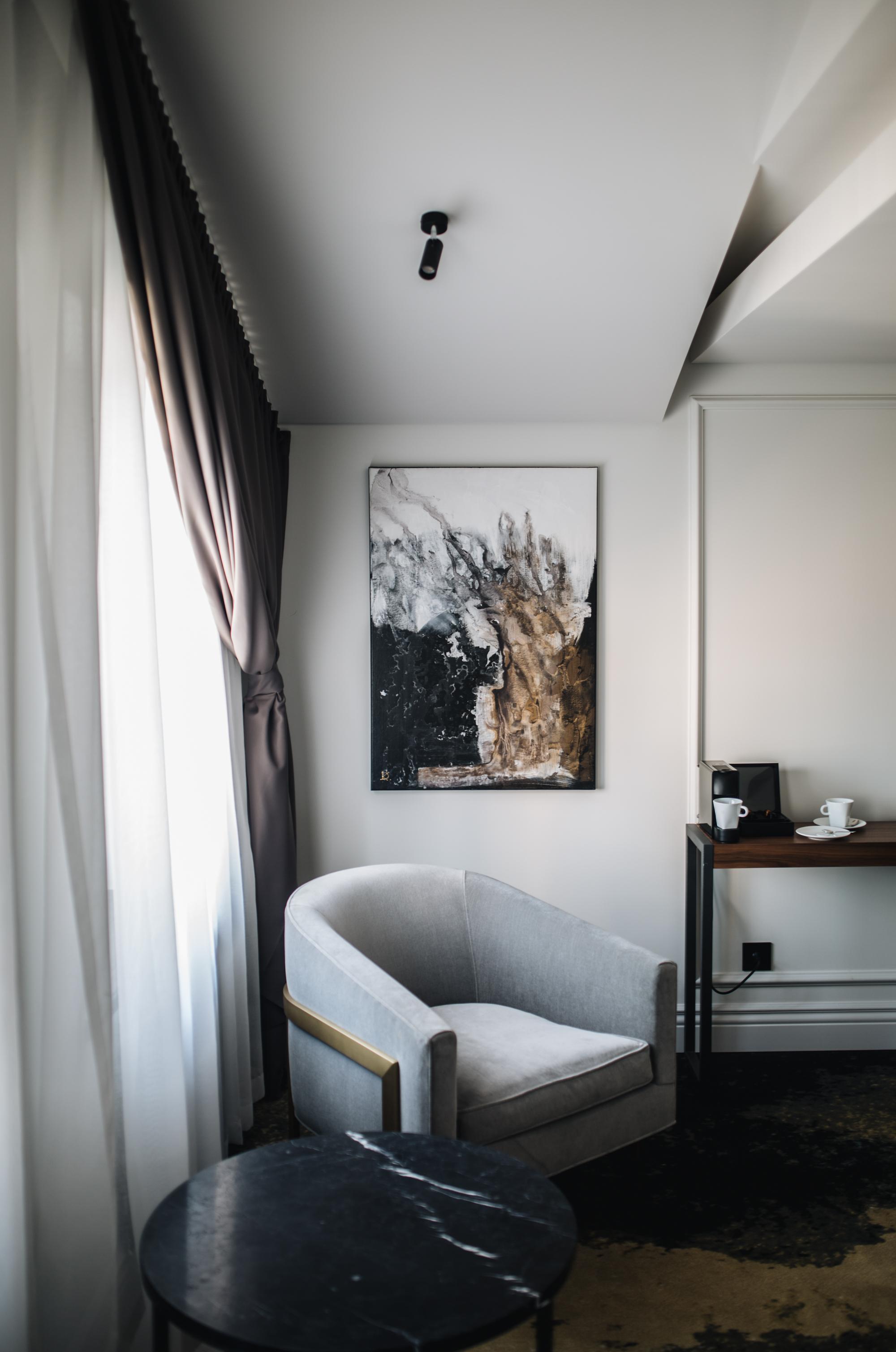 Zimmer 419. Hotel Pacai. Vilnius.