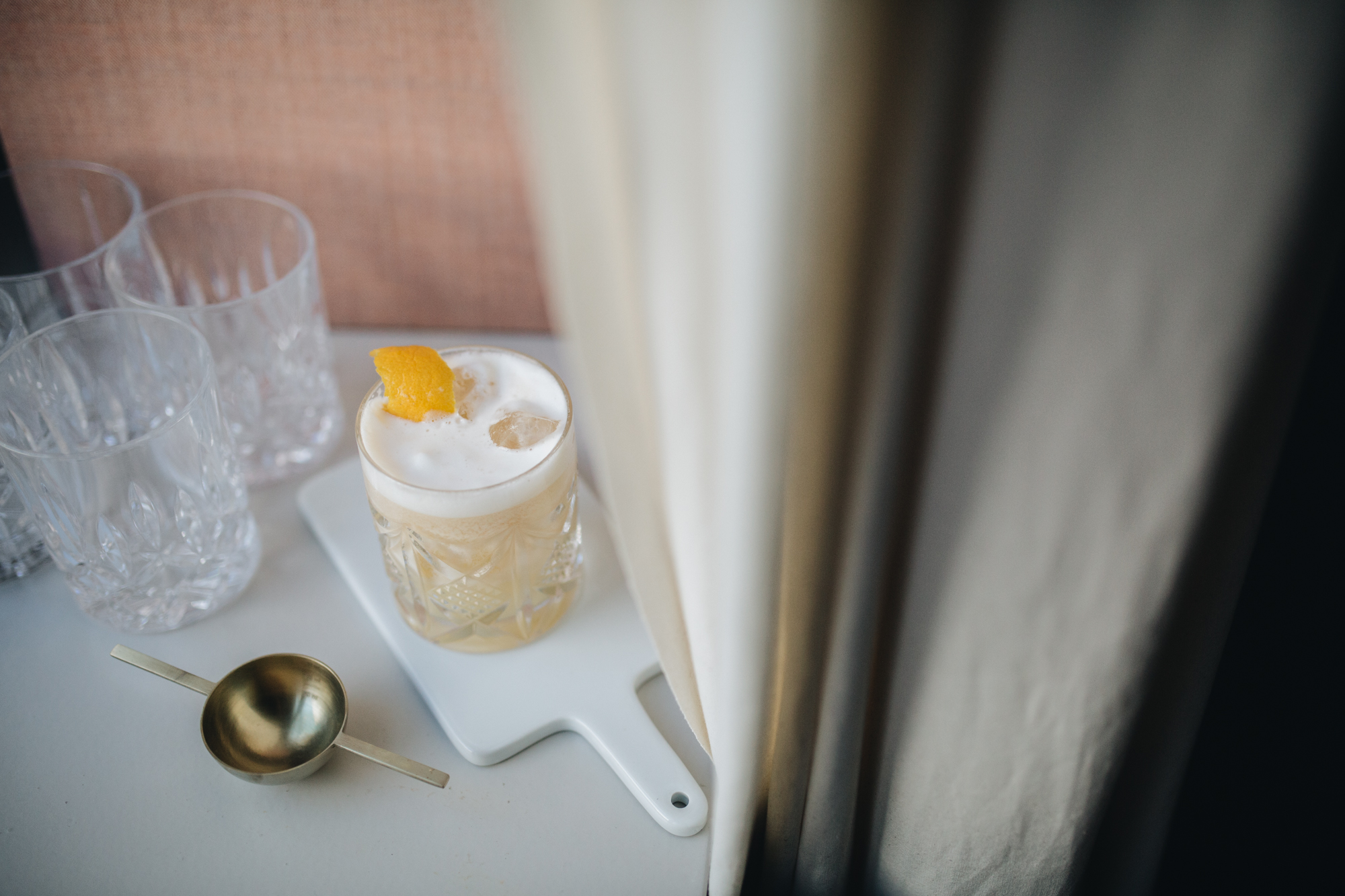 Friday-Drink: Ginger Sour mit Roe&Co